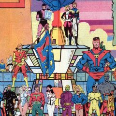 LEVITZ AND GIFFEN: When the LEGION OF SUPER-HEROES Was at its Best