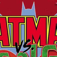 The BATMAN VS. RA'S AL GHUL Logo Recalls Bronze Age Glory
