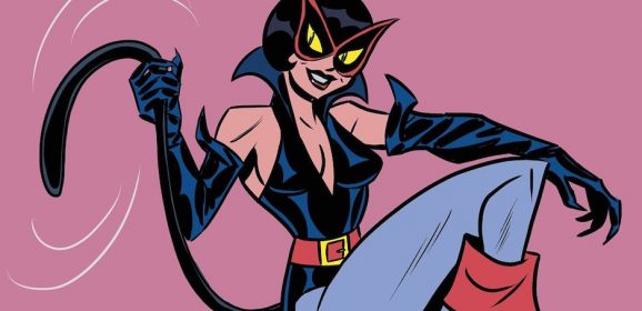 This Groovy Retro CATWOMAN Illustration Will Make Your Day