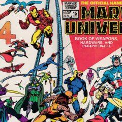 13 MARVEL UNIVERSE HANDBOOK COVERS to Make You Feel Good