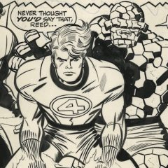 Jack Kirby's FANTASTIC FOUR ARTISAN EDITION Coming From IDW