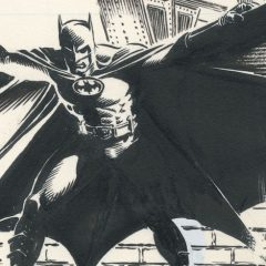 Dig This UP-CLOSE LOOK at JERRY ORDWAY's Original BATMAN '89 Art
