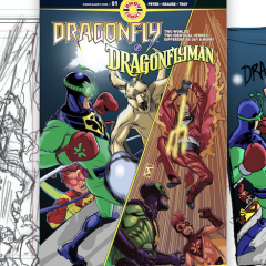 JAMAL IGLE on Creating the Cover For DRAGONFLY & DRAGONFLYMAN #1