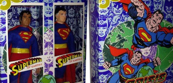 Custom MEGO Box of the Day #9: CRISIS ON INFINITE EARTHS