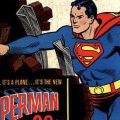TOYHEM! Memories: AURORA's SUPERMAN MODEL, by TOM PEYER