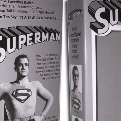 Custom MEGO Box of the Day #11: GEORGE REEVES SUPERMAN