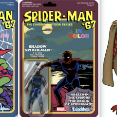 Dig EVEN MORE Groovy SPIDER-MAN '67 Cartoon Action Figure Designs