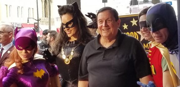 13 GROOVY PHOTOS From BURT WARD's Walk of Fame Ceremony
