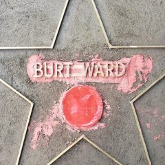 Dig This SNEAK PEEK at BURT WARD's Hollywood Walk of Fame Star