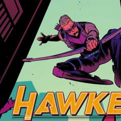 EXCLUSIVE Preview — HAWKEYE: FREEFALL #2