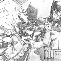 JIM LEE Pays Tribute to ROBIN's Debut in DETECTIVE COMICS #38