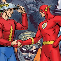Dig These Groovy FLASH #750 Decade Variant Covers