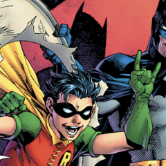 Dig JIM LEE's Variant Cover for ROBIN's 80th ANNIVERSARY — Now in Color
