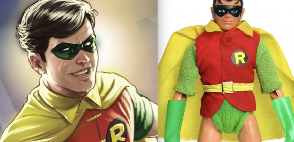DC's 1970s ROBIN Anniversary Cover Is a Treat For MEGO Fans
