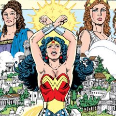 GEORGE PEREZ's WONDER WOMAN #1 to Be Re-Released as Facsimile Edition