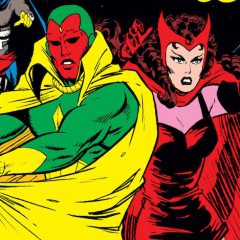 13 VISION AND SCARLET WITCH COVERS to Make You Feel Good