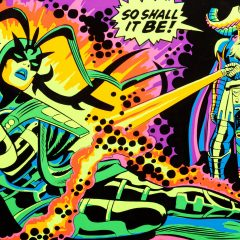 13 MARVEL BLACK LIGHT POSTERS to Blow Your Mind