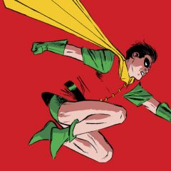 Dig the Final Version of LEE WEEKS' Glorious ROBIN 80th ANNIVERSARY Cover