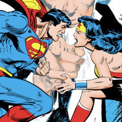 SUPERMAN VS. WONDER WOMAN Treasury to Be Re-Released — at FULL SIZE