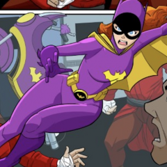 BATMAN '66 MEETS GODZILLA: Here's Your FIRST LOOK at BATGIRL