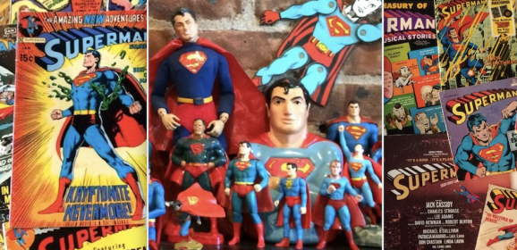 One of the Grooviest SUPERMAN Collections You'll Ever See