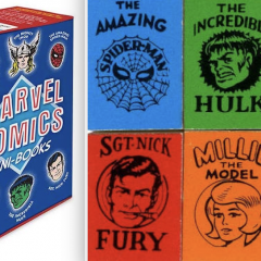 Classic MARVEL COMICS MINI-BOOKS to Be Re-Released as Large-Size Facsimiles