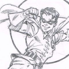 Artist RON FRENZ Reminds Fans Why ROBIN Is So Great