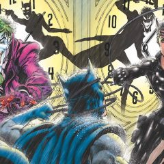 Dig NEAL ADAMS' JOKER and CATWOMAN 80th Anniversary Covers