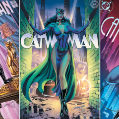 Dig J. SCOTT CAMPBELL's Eight CATWOMAN 80th Anniversary Covers