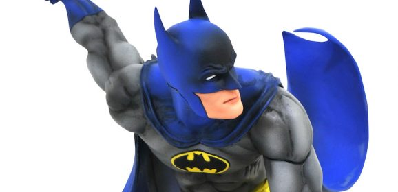 Dig This Groovy New Bronze Age BATMAN Statue