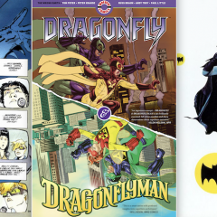 JEFF PARKER: Of Dark Knights, Caped Crusaders — and DRAGONFLY & DRAGONFLYMAN