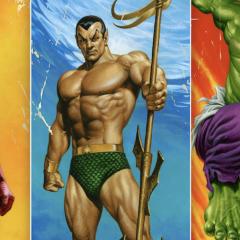 JOE JUSKO: Dig These 13 Groovy MARVEL Corner Box Paintings