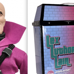 INSIDE LOOK: The 'Mego' LEX LUTHOR Playset You've Been Waiting For