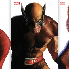 Dig These MARVELOUS New 'Timeless' Variant Covers by ALEX ROSS