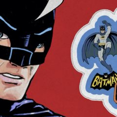 BATMAN '66 MEETS GODZILLA Brings You Retro Sticker Fun