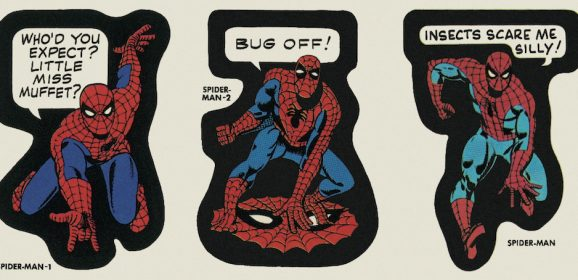 FAR OUT! MARVEL Reprints Classic Vintage Stickers From '60s and '70s