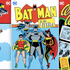 DC COMICS Takes Fans Back to the '50s With Paperback Collections