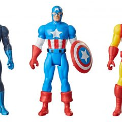 Dig the Groovy New Bronze Age MARVEL Retro Figures From HASBRO