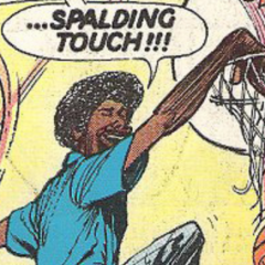 DR. J, RICK BARRY and the Greatest Basketball Comic Ever