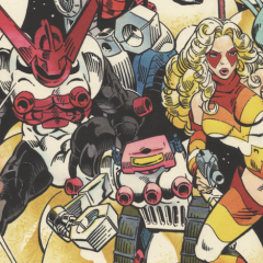 13 Gorgeous Original MICRONAUTS Pages: A MICHAEL GOLDEN Birthday Salute