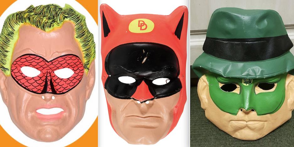 Ben Cooper Halloween Masks.13 Groovy Ben Cooper Masks Ranked 13th Dimension Comics Creators Culture