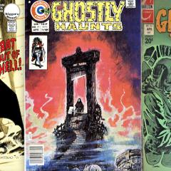 PAUL KUPPERBERG: My 13 Favorite DC and CHARLTON Horror Covers of the 1970s
