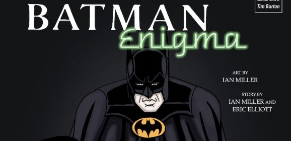 BATMAN ENIGMA: A FIRST LOOK at the Comic That Takes You Back to the KEATON Era