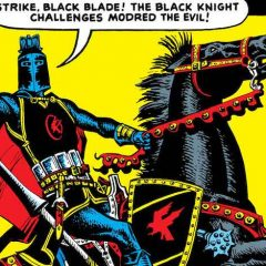 BLACK KNIGHT #1: Pre-MARVEL AGE Rarity to Get Facsimile Edition