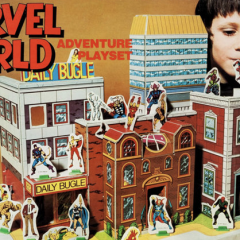How the MARVEL WORLD ADVENTURE PLAYSET Opened a Brand New Universe