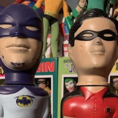 BATMAN AND ROBIN SOAKIES: A Boy's First 'Action Figures'