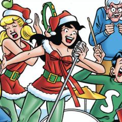 Santa's Daughter Returns in WORLD OF ARCHIE DIGEST #105