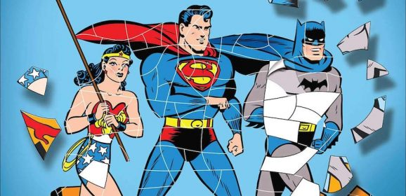 Groovy! Vintage DC COMICS Sticker Puzzle Book Coming Soon
