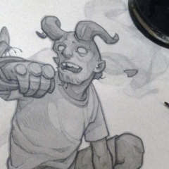 YOUNG HELLBOY: A Portrait of the Demon as an Adventurous Kid