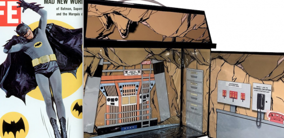 Dig This Groovy Custom BATMAN '66 BATCAVE Playset — That You Can Own